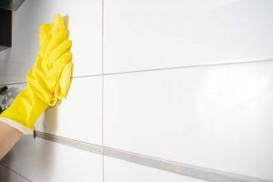 pulire mattonelle con vapore