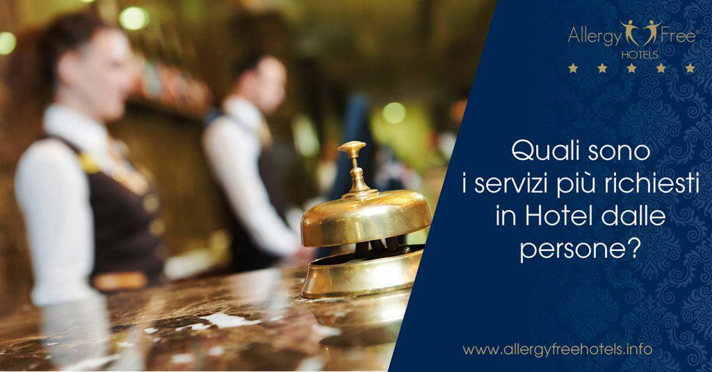 servizi richiesti hotel