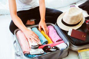 come preparare una valigia